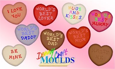 THIS WORLD'S BEST DAD HEART MOULD FEATURES IN OUR SPECIAL OFFERS CATEGORY!
