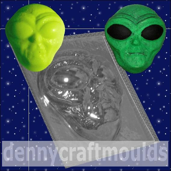 Alien Face Mould