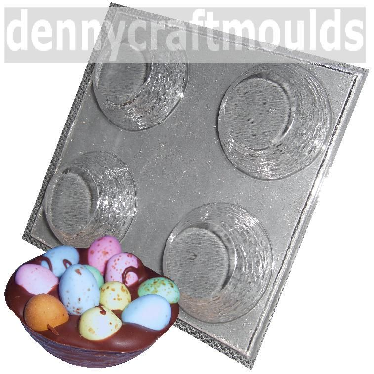 Easter Birds' Nests Chocolate Candy Mold