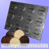 Capsule chocolate mold