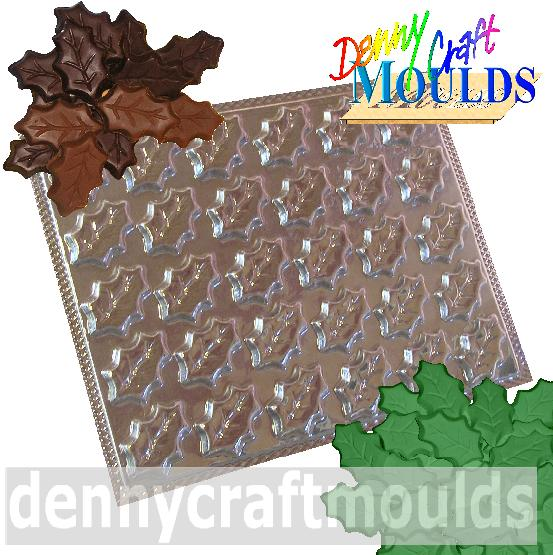 Holly Leaves Mould