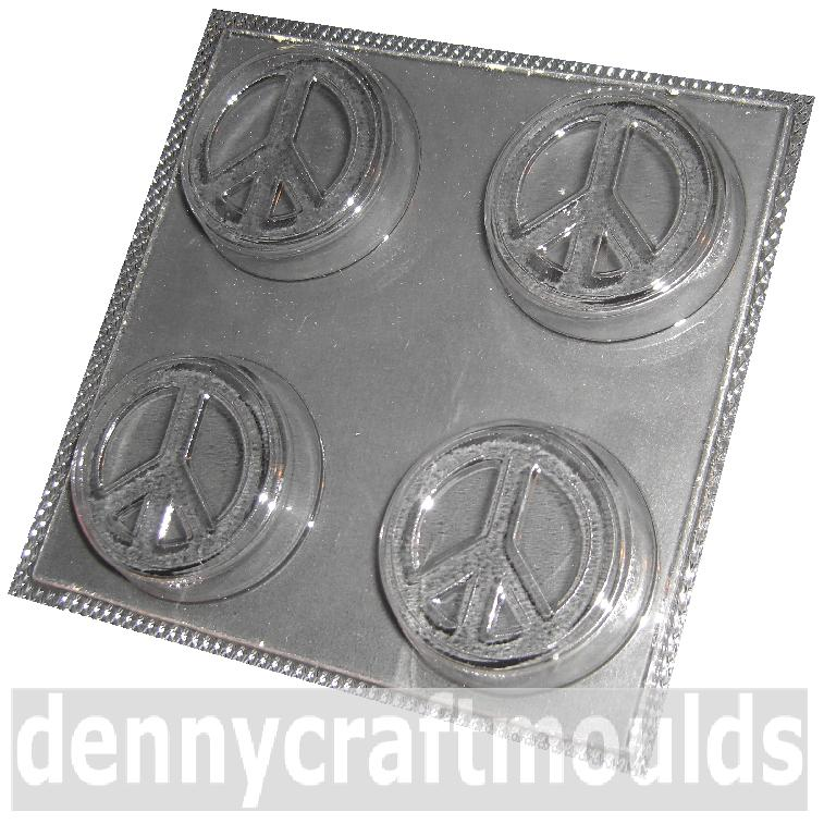 Soap Making Mould of Peace Symbol